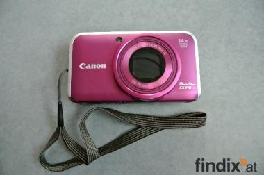 CANON Digitalkamera Powershot SX210IS