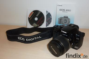 Canon EOS 400 D Kit mit 18/55mm Objektiv
