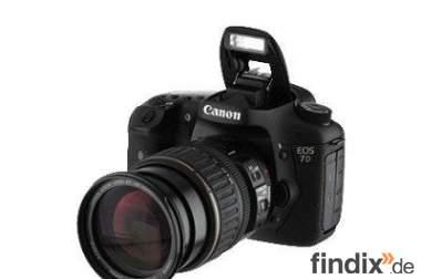Canon EOS 7D Digitale SLR Kamera mit 18-135 mm EF-S Objektiv