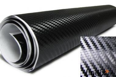 Carbonfolie Carbon folie Tuning 3D BUBBLE FREE für Auto Haushalt