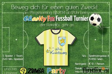 Charity Fussballturnier und Zumba® Fitness Party