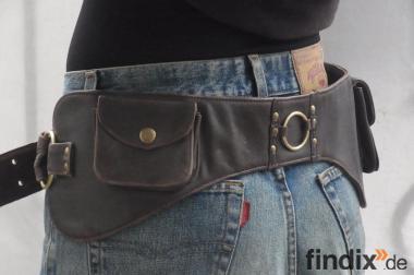 cooler Gürtel mit zwei Taschen