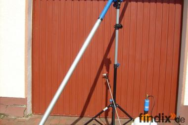 Dachreinigung mit Spezial-Teleskoplanze