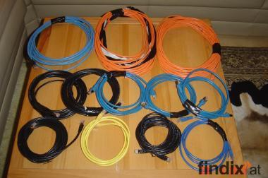 Datenleitungskabel CAT5 - 1-15m