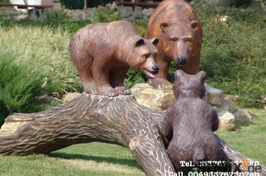 Deko Bären für Ihren Garten...