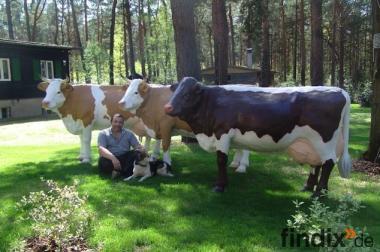 Deko Kuh lebensgross für Ihren Garten...