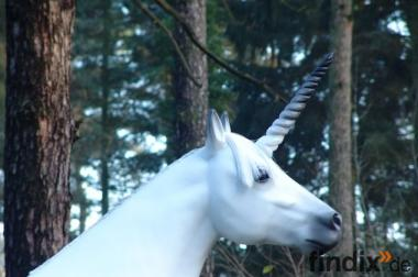 Deko Pferd lebensgross als Einhorn ...jetzt anrufen ...