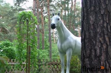 Deko Pferd lebensgross für Ihren Garten ... Tel. 033767 - 30750