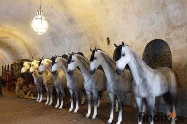 Deko Pferd mit Sonderbemalung auf Kundenwunsch