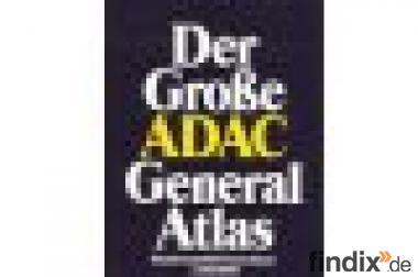 Der große  ADAC  General  Atlas  Deutschland