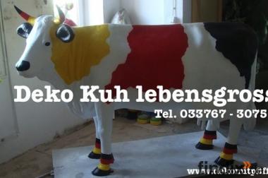 Deutsch  - Deko Kuh lebensgross oder möchtest Du etwas anders