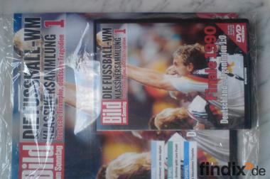 Die Fussball-WM Klassikersammlung Ausgabe 1 Finale 1990 + DVD-OVP