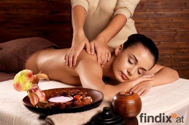 Die Massage mit allen Sinnen spüren und genießen!