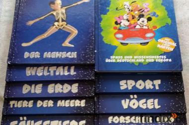 Disney Kindermagazine Unsere faszinierende Welt 16 Bände u Atlas