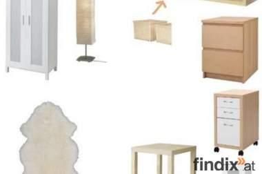 Diverse Ikea-Möbel in neuwertigem Zustand