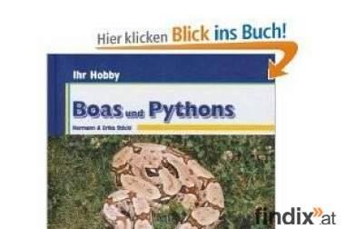 Diverse Schlangenbücher (Riesenschlangen, Boa, Python)