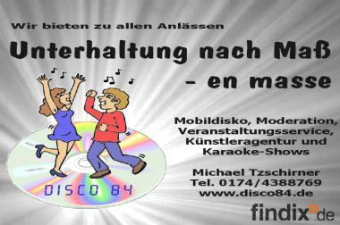 DJ / Alleinunterhalter für Ihre Party in Thüringen