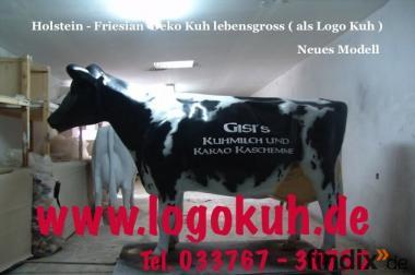 Du möchtest auch ne Logo Deko Kuh mit Deinen ...