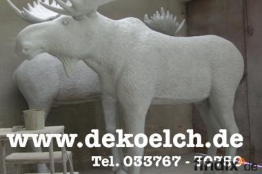 Du willst einen Deko Elch ? Ok. dann ruf an ...
