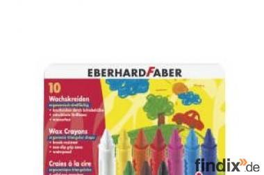 Eberhard Faber Wachsmalkreiden 10 Farben