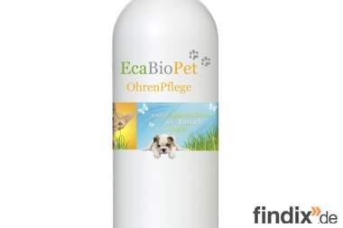 EcaBioPet  Ohrenreiniger, Ohrenpflege für Hunde