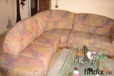 Eck-Sofa incl. Rundhocker