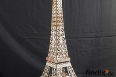 Eifelturm Modell aus Sperrholz