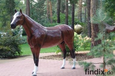 Ein Deko Pferd lebensgross als Geschenk für Ihren Mann ...