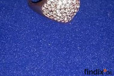Ein Prachtstück - Ring zu verlieben. Rosagold PL u.Zirkonia -Gr.