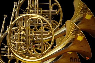 Ein Waldhorn oder Doppelhorn kauft man beim Brassboulevard