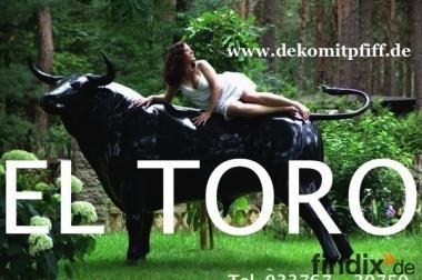 EL TORO - als Blickfang für Dein Wohnzimmer ...