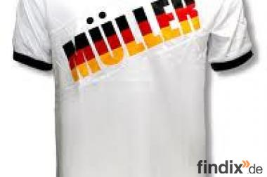 "EM 2012 Fußball-Shirt ""MÜLLER"""