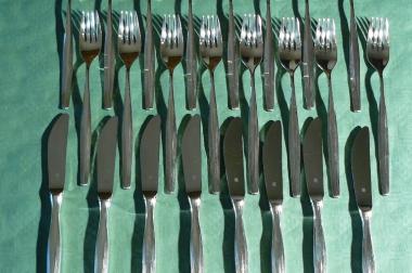Essbesteck Menübesteck Silber 90 (BE025)