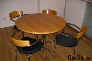 Essgruppe, Tisch mit 4 Stühlen zu verkaufen