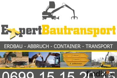 Expertbautransport Container Umzug Transporte