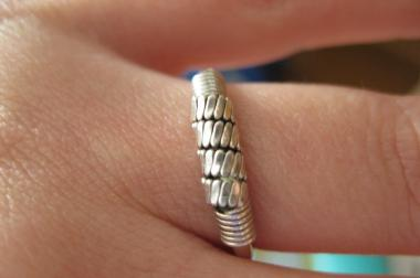 Fingerring aus  925 silber