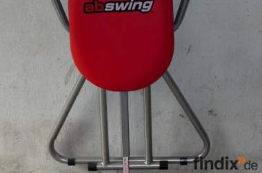 Fitnessgerät/ Bauchtrainer Abswing Farbe rot