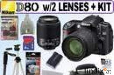 For Sale  Nikon D80 10.2MP Digital SLR Camera