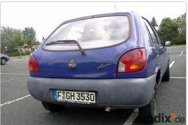 ford fiesta auto kleinwagen stadflitzer tüv abgelaufen