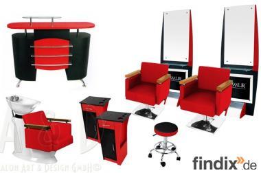 Friseureinrichtung neu, modern und guenstig kaufen