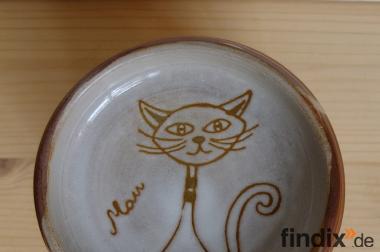 Futternapf für Katze -Handarbeit-