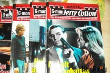 G-man Jerry Cotton  Romane Konvolut