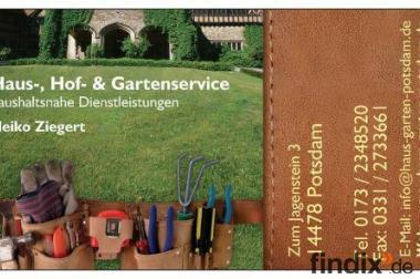 Gartenservice - Hecken schneiden