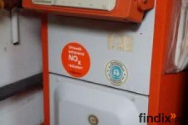 Gas-Heizungsanlage mit 500L-Warmwasserspeicher