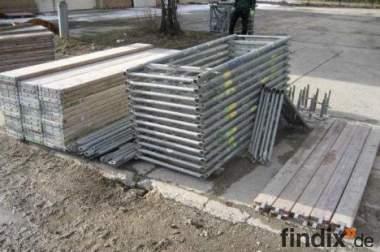 gebraucht Gerüst – Plettac SL 70 - 128 m² - Feldlänge 2,50 m