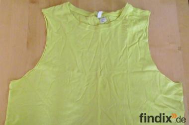Gelbes Divided T-Shirt Gr.34/36