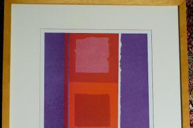 Gemälde moderne Grafik (B051)