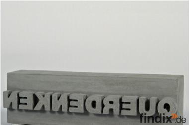 """Geschenk für Mitarbeiter: Skulptur """"Querdenken"""""""