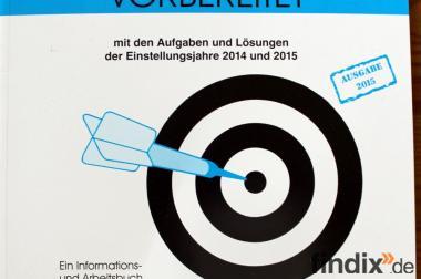 Gezielt vorbereitetzur Auswahlprüfung für Beamtentest 2015