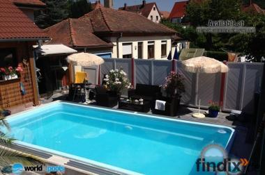 Gfk-Schwimmbecken, Fertigbecken, Garten-Pool - Ontario/Ap